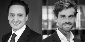 Stéphane Puel et Matthieu Lucchesi