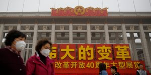 Chine, pollution, air, atmosphère,