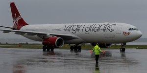 Virgin atlantic pres d'un accord pour reprendre flybe