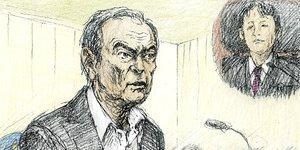 Carlos ghosn sera de nouveau inculpe vendredi par le parquet de tokyo, selon sce