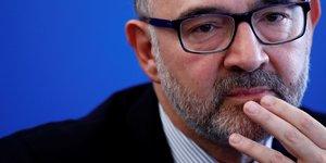 Moscovici juge la croissance economique de la zone euro solide