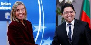 Bourita Mogherini Maroc UE accord