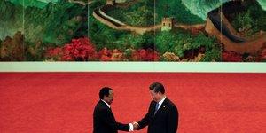 Paul Piya Xi Jinping Chine Cameroun