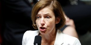 Florence parly inquiete de l'imprevisibilite americaine