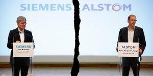 Siemens-Alstom, fusion refusée par l'UE,