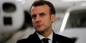 Macron se prononce contre la penalisation de l'antisionisme