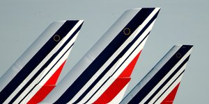 Air France, empennages, aérien, logo