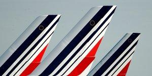 Air France, empennages, aérien, logo