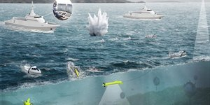 Naval Group Thales STX Chasseurs de mines Belgique Pays-Bas
