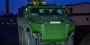 véhicule blindé Griffon Nexter armée de Terre Belgique