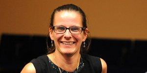 Séverine Sigrist, présidente du pôle de compétitivité Alsace Biovalley