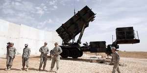 Les usa approuvent le deploiement de missiles patriot au moyen-orient