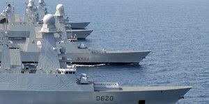 Naval Group Fincantieri projet Poseidon