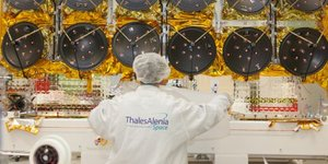 Thales Alenia Space constellation