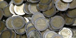 Pièces 2 euros argent épargne
