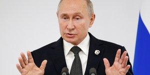 Poutine se dit pret a plus de dialogue avec les etats-unis