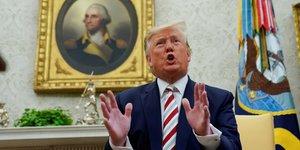Trump estime qu'un retour de la russie dans le g7 serait approprie