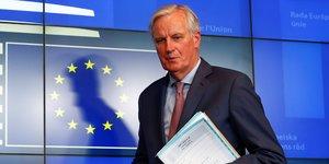 Brexit: l'ue prete a accorder un delai au royaume-uni, confirme barnier