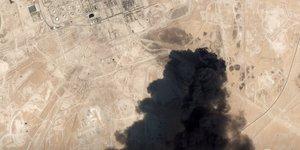 Aramco, missiles, drones, attaque, pétrole, raffinerie, Arabie saoudite,e