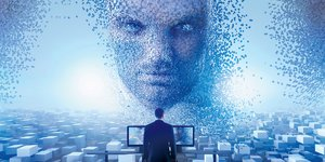 IA, intelligence artificielle, allégorie, illustration