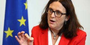 Cécilia Malmström, commissaire européenne au Commerce