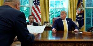 Trump annonce un accord commercial partiel avec la chine