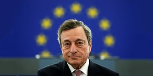 Mario Draghi, BCE, extended