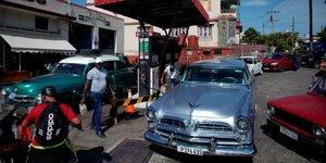Illustration Cuba station essence
