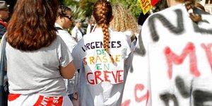 hôpital, urgences, médecins, santé, grève, manifestation