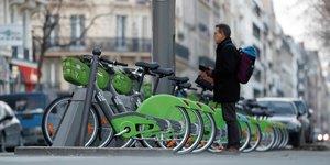 Vélo Smovengo Paris