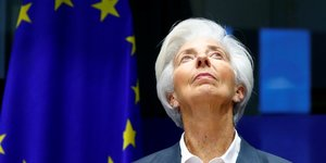 Christine Lagarde, présidente de la BCE