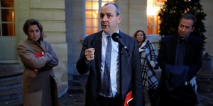 Laurent Berger, CFDT, Matignon