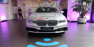 Bmw et tencent s'allient dans la voiture autonome en chine