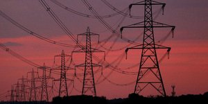 Pylônes électriques, Nord de l'Angleterre