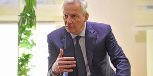 H319 Bruno Le Maire, ministre de l'Économie et des Finances