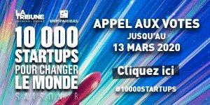 10 000 startups 2020 - Appel aux votes