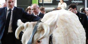 Macron au chevet d'un monde agricole dans le doute