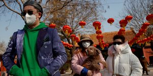 Coronavirus: hausse du nombre de cas de contamination en chine continentale