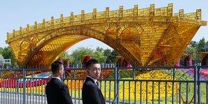 Le pont d'or de la Route de la soie