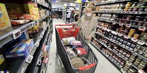 supermarché france coronavirus