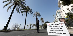Coronavirus: l'amende confinement portee a 200 euros en france