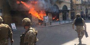 Liban: heurts lors de manifestations contre le cout de la vie, un mort