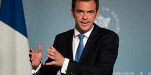Olivier Véran, ministre de la Santé, lors d'une déclaration à la presse, le 20 mai 2020