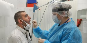 Coronavirus: le bilan approche les 450.000 cas en russie