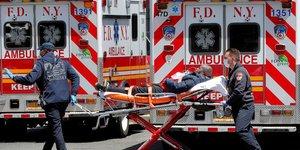 États-Unis, coronavirus, Covid-19, ambulance, épidémie, New York, médecin, pompier,
