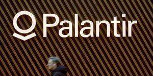 Logo Palantir, spécialiste américain de l'analyse de données