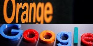 Collage photos Orange Google