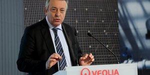 Veolia n'exclut pas de relever son offre sur suez, dit frerot