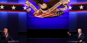 Usa 2020: trump et biden a l'offensive lors d'un premier debat chaotique