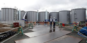 Fukushima, contaminated water tanks, Le japon va rejeter les eaux contaminees de fukushima dans l'ocean